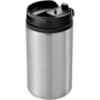 Mojave Insulating Tumbler in silver with black lid