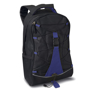 Monte Lema Backpack in black and blue