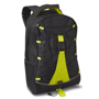 Monte Lema Backpack in black and green
