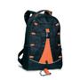 Monte Lema Backpack in black and orange