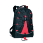 Monte Lema Backpack in black and red