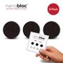 Nanobloc Webcam Cover in black 3 pack