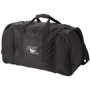 Nevada Travel Bag in black with 1 colour print logo