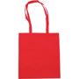 Lightweight exhibition carry bag in red with matching long handles