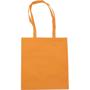 Over the shoulder tote bag in orange