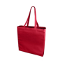 Promotional large cotton bag in red