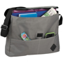 Internal compartments of the messenger bag