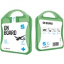 green on board travel set case