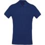 Organic Polo Shirt in blue