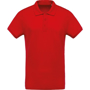 Organic Polo Shirt in red