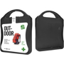 Outdoor First Aid Kit in black