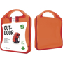 Outdoor First Aid Kit in red