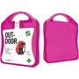 Outdoor First Aid Kit in pink