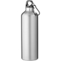 Large capacity solid silver metal water bottle