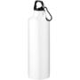 Solid white 770ml metal drink bottle