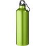 Aluminium water bottle in green