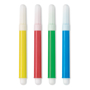4 coloured markers for paint and cook aprons