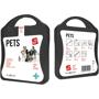 black pet care kit