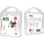 white pet care kit