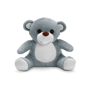 grey plush toy bear