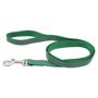 dark green polyester dog lead