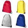 4 colours of premium nylon drawstring rucksack