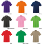 Premium Short Sleeve Polo with collar and 3 buttons