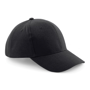 Pro-Style Heavy Brushed Cotton Cap in black