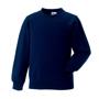 Raglan Sleeve Sweatshirt in navy with crew neck