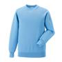 Raglan Sleeve Sweatshirt in blue with crew neck