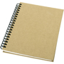 A6 Wirobound Notebook with natural recycled cover