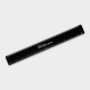 Recycled Flexi Ruler in black with 1 colour print