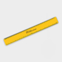 Recycled Flexi Ruler in yellow with 1 colour print