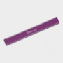 Recycled Flexi Ruler in purple with 1 colour print