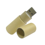 Recycled paper USB with cap off