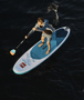 Original red Paddle Board Areal View