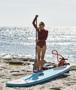 Original red Paddle Board Paddle Measuring
