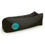 Relax Air Bed in black with 1 colour print logo