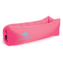 Relax Air Bed in pink with 1 colour print logo