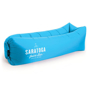 Relax Air Bed in blue with 1 colour print logo