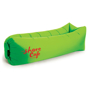 Relax Air Bed in green with 1 colour print logo