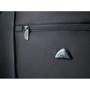 Rochester Travel Bag in black with close up details