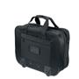 Rochester Travel Bag in black showing back of bag
