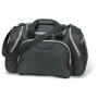 Ronda Bag in black with grey zip details