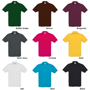 Safran Short Sleeve Polo with collar and 3 buttons