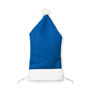 Santa Hat Phone Holder in blue and white