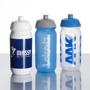 Plastic Shiva Sports Bottle Full Colour Print White, Grey, Blue Lids