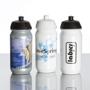Plastic Shiva Sports Bottle Full Colour Print Black and White Lids