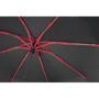 Skye Foldable in black with red metal bones