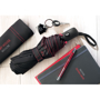 Skye Foldable and cover in black with red details